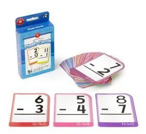 Learning Can Be Fun Subtraction Flash Cards