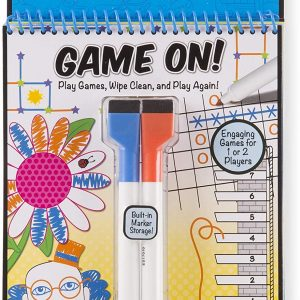 Melissa and doug game on activity pad